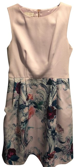 Preload https://img-static.tradesy.com/item/25719346/ted-baker-pink-mid-length-short-casual-dress-size-4-s-0-1-650-650.jpg