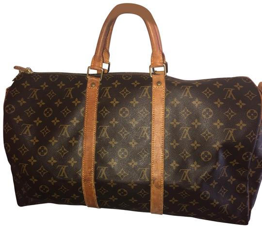 Preload https://img-static.tradesy.com/item/25719353/louis-vuitton-keepall-duffle-50-luggage-carry-on-monogram-canvas-brown-weekendtravel-bag-0-1-540-540.jpg