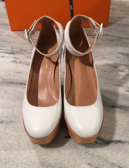 Robert Clergerie white Wedges Image 1