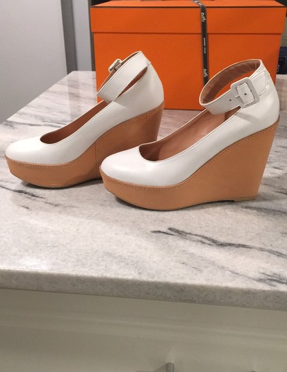 Robert Clergerie white Wedges Image 2