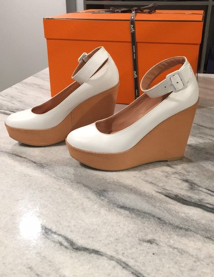 Robert Clergerie white Wedges Image 4