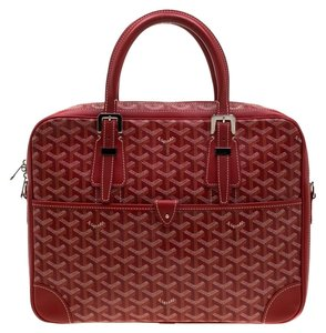 Goyard Canvas Red Travel Bag