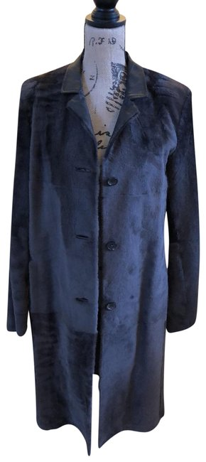 Item - Brown Sheared Leather Shearling Coat Size 10 (M)