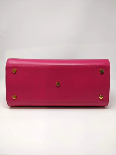 Saint Laurent Sacdejour Ysl Royalblue Small Tote in Pink Image 6