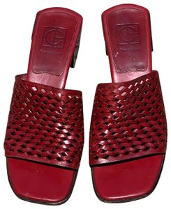 Cole Haan Berry Red Sandals