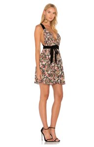 Majorelle short dress Floral / Black on Tradesy