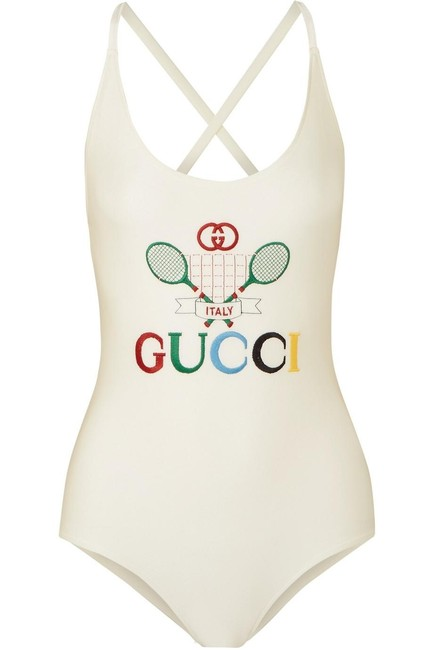 Item - Embroidered Swimsuit One-piece Bathing Suit Size 8 (M)