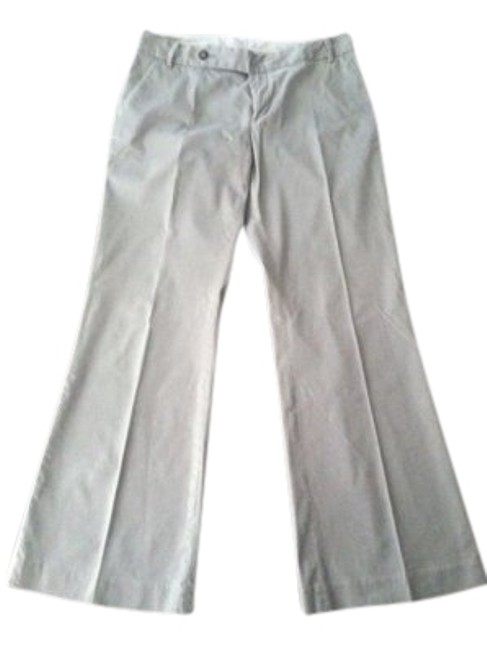 Preload https://item2.tradesy.com/images/gap-light-gray-straight-fit-leg-flared-pants-size-10-m-31-25721-0-1.jpg?width=400&height=650
