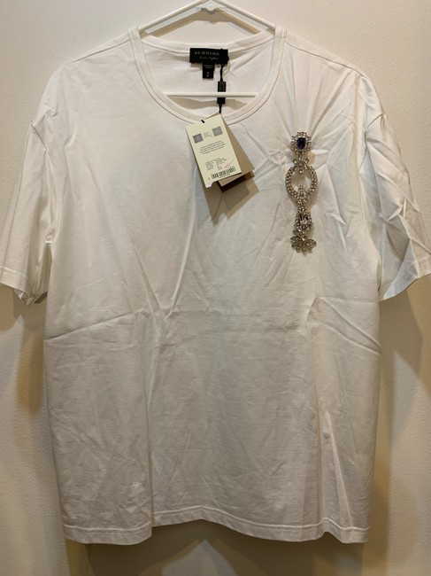 Burberry T Shirt optic white Image 9
