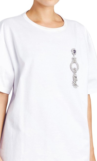 Preload https://img-static.tradesy.com/item/25721299/burberry-optic-white-removable-jewels-pin-dolman-tee-shirt-size-4-s-0-3-650-650.jpg