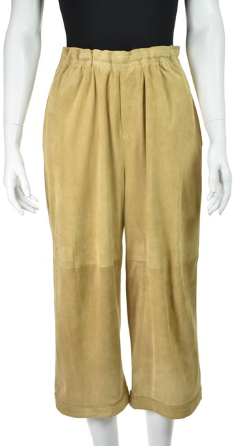 Item - Tan Suede Cropped Pants Size 8 (M, 29, 30)