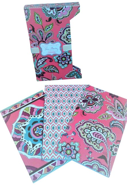 Vera Bradley Multicolor New Lined 3 Journals Set Vera Bradley Multicolor New Lined 3 Journals Set Image 1