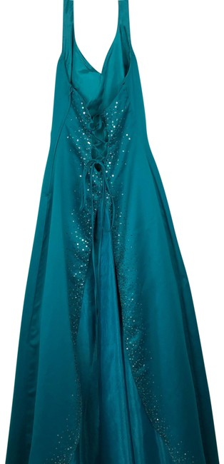 Item - Turquoise Line Long Formal Dress Size 4 (S)