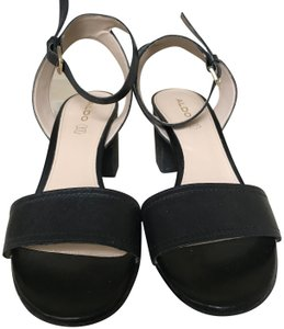 ALDO Leather Black Sandals