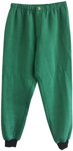 Creatures of Comfort Elastic Waist Sweatpants Kelly Athleisure Relaxed Pants Green