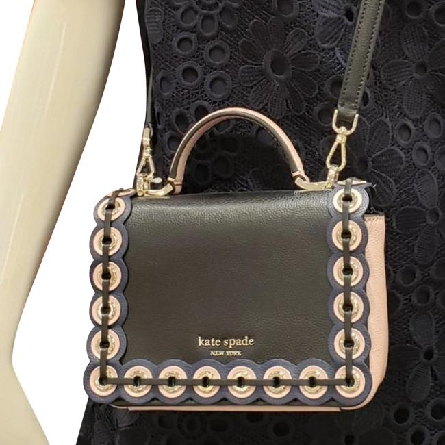 Kate Spade Mini Maisie Patterson Drive Grommet Was Black Multi Leather Cross Body Bag Kate Spade Mini Maisie Patterson Drive Grommet Was Black Multi Leather Cross Body Bag Image 1