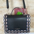 Kate Spade Mini Maisie Patterson Drive Grommet Was Black Multi Leather Cross Body Bag Kate Spade Mini Maisie Patterson Drive Grommet Was Black Multi Leather Cross Body Bag Image 2