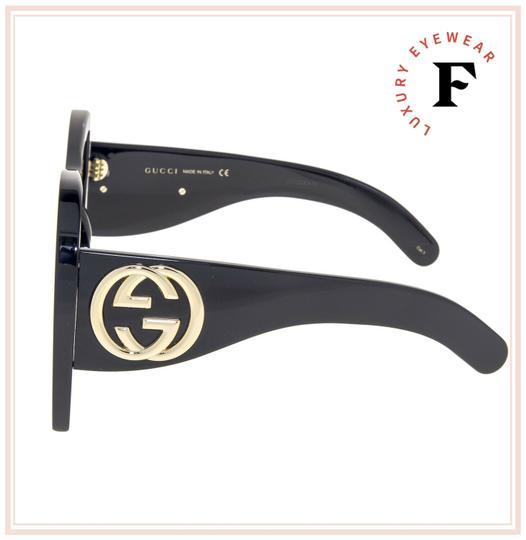Gucci GUCCI HOLLYWOOD FOREVER 0143 Black Mother of Pearl GG0143 Image 2