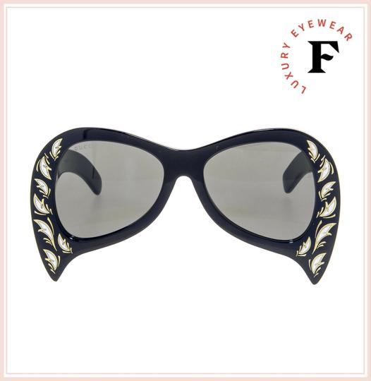 Gucci GUCCI HOLLYWOOD FOREVER 0143 Black Mother of Pearl GG0143 Image 3