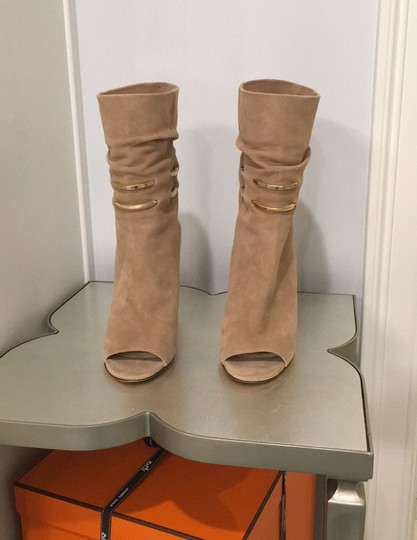 Jimmy Choo beige suede Boots Image 1