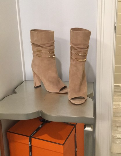 Jimmy Choo beige suede Boots Image 2