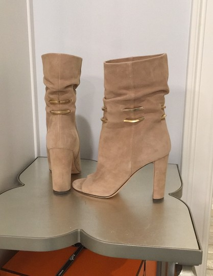 Jimmy Choo beige suede Boots Image 3