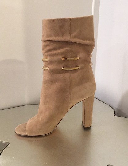 Jimmy Choo beige suede Boots Image 6