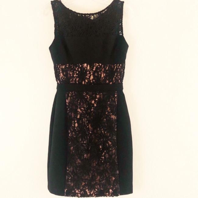 Black Halo Lace Short Dress Image 1