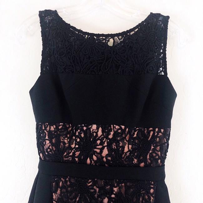 Black Halo Lace Short Dress Image 2