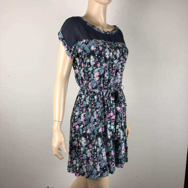 LC Lauren Conrad short dress Multi Floral Belted on Tradesy Image 1