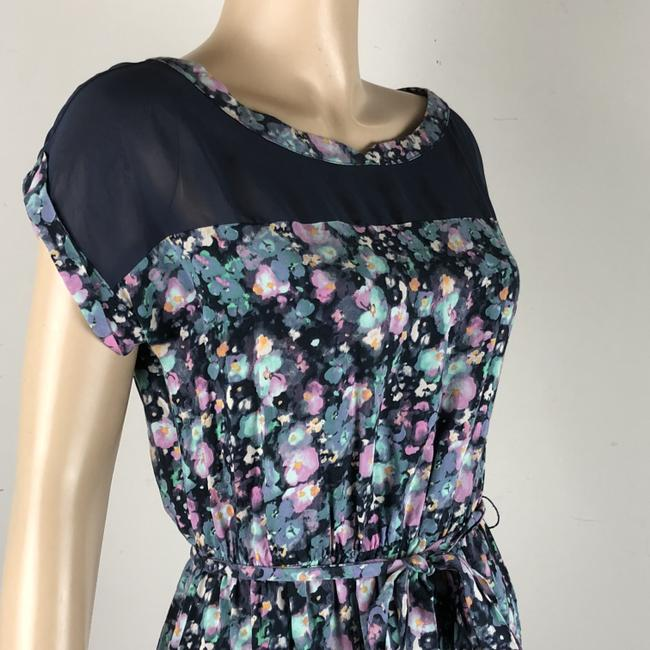 LC Lauren Conrad short dress Multi Floral Belted on Tradesy Image 3