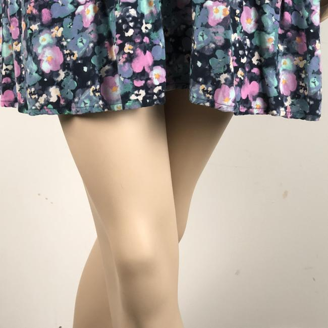 LC Lauren Conrad short dress Multi Floral Belted on Tradesy Image 5