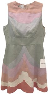 Valentino short dress Pastel multi Couture Linen on Tradesy