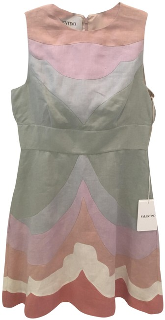 Preload https://img-static.tradesy.com/item/25722658/valentino-pastel-multi-couture-mid-length-short-casual-dress-size-6-s-0-1-650-650.jpg