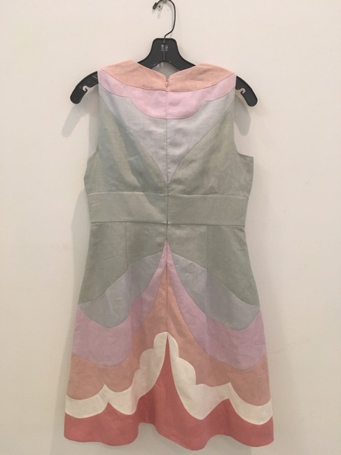Valentino short dress Pastel multi Couture Linen on Tradesy Image 2