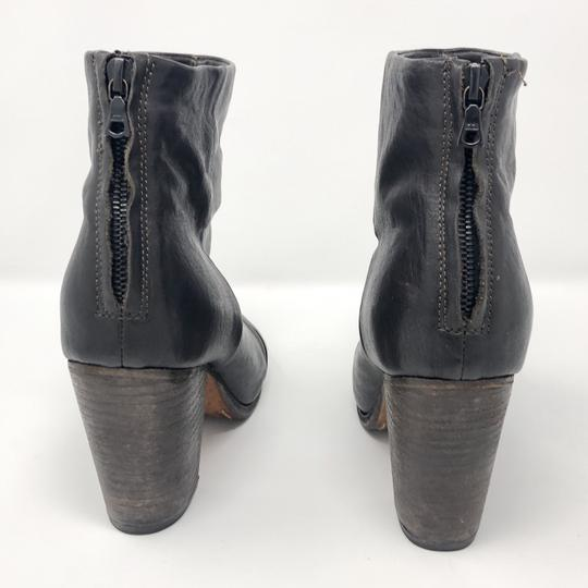 Rag & Bone Leather Ankle Brown Boots Image 2