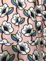 Orla Kiely Seventies Floral Pastel Boilersuit Graphic Dress Image 1