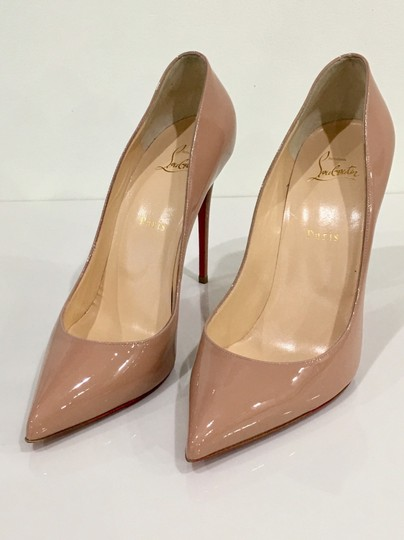 Christian Louboutin Pigalle Red Bottoms Pigalle Louboutinpumps nude Pumps Image 1