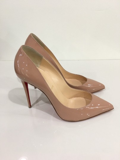 Christian Louboutin Pigalle Red Bottoms Pigalle Louboutinpumps nude Pumps Image 2
