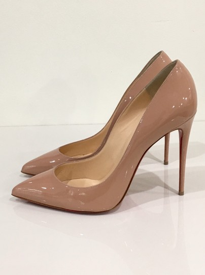 Christian Louboutin Pigalle Red Bottoms Pigalle Louboutinpumps nude Pumps Image 3