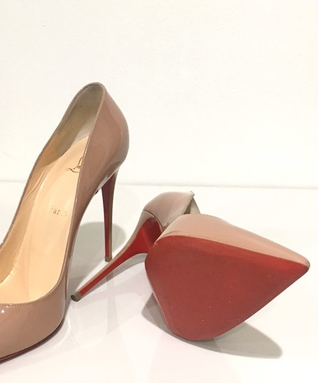 Christian Louboutin Pigalle Red Bottoms Pigalle Louboutinpumps nude Pumps Image 7