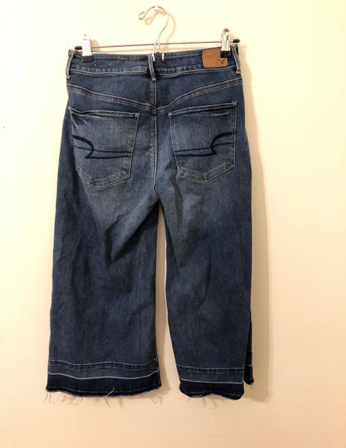 American Eagle Outfitters Trouser/Wide Leg Jeans-Medium Wash Image 1