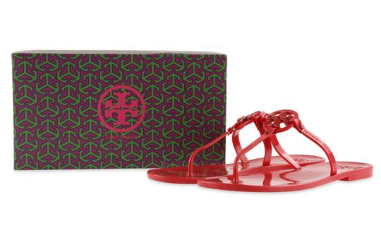 Tory Burch Red Sandals Image 11