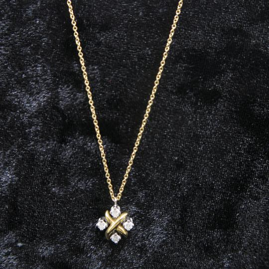 Tiffany & Co. Tiffany & Co. Yellow Gold Diamond Lynn Pendant Necklace Image 1