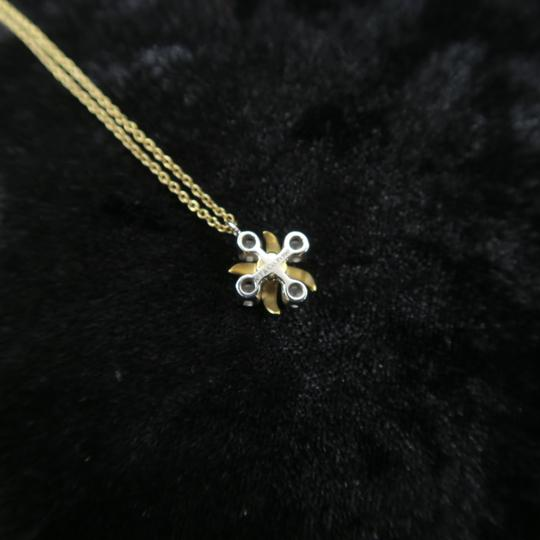 Tiffany & Co. Tiffany & Co. Yellow Gold Diamond Lynn Pendant Necklace Image 4