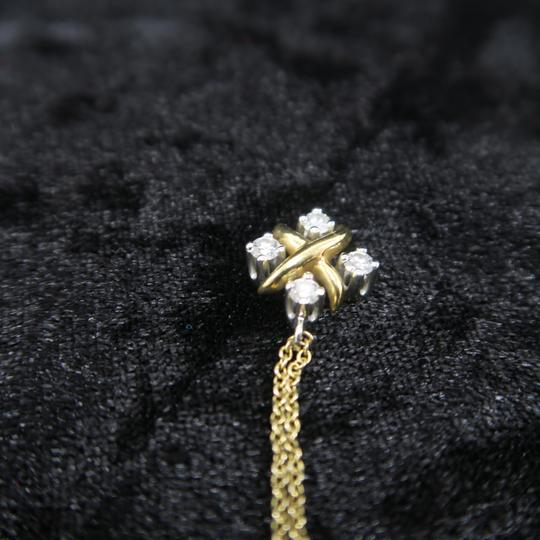 Tiffany & Co. Tiffany & Co. Yellow Gold Diamond Lynn Pendant Necklace Image 8
