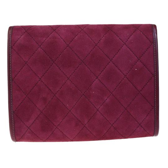 Chanel Made In France Bordeaux Clutch Image 2