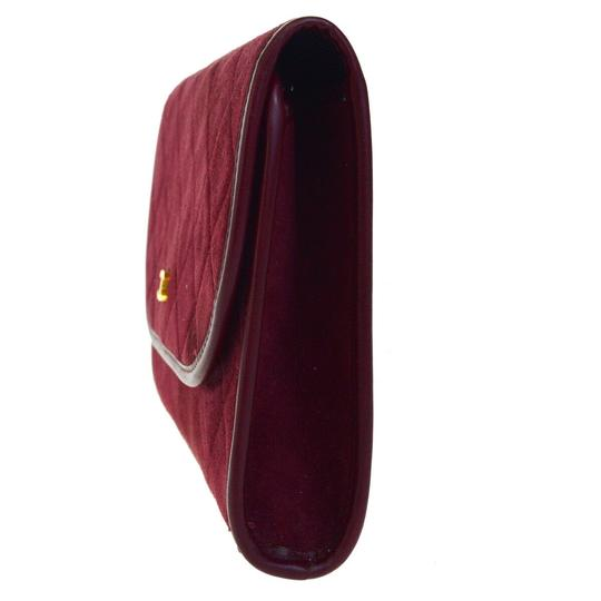 Chanel Made In France Bordeaux Clutch Image 3