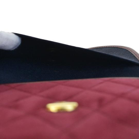 Chanel Made In France Bordeaux Clutch Image 4