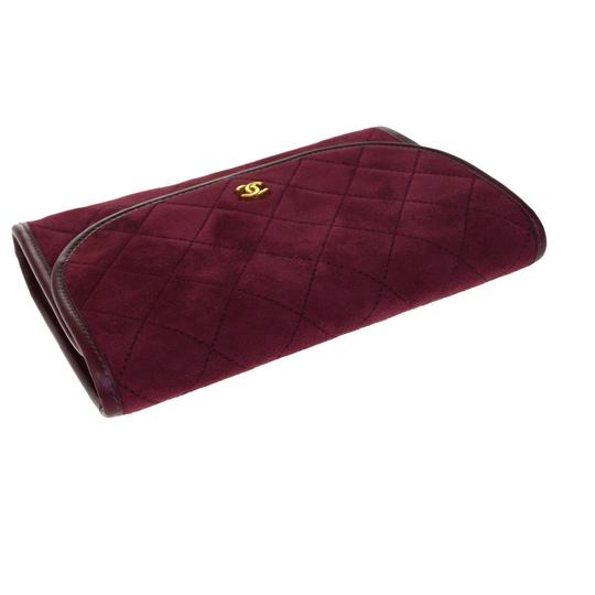 Chanel Made In France Bordeaux Clutch Image 6